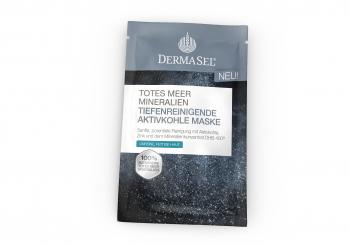 Masca faciala cu carbune activ Dermasel 12 ml Masti, exfoliant, tonice