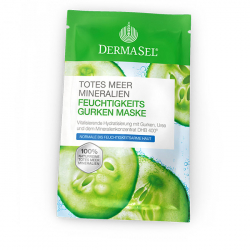Masca hidratanta cu castraveti uree minerale Dermasel 12 ml Masti, exfoliant, tonice