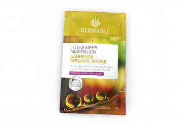 Masca hranitoare cu ulei de argan Dermasel 12 ml Masti, exfoliant, tonice