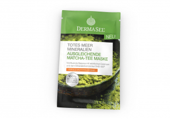 Masca reechilibranta cu ceai Matcha Dermasel 12 ml Masti, exfoliant, tonice