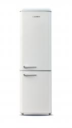 Frigider cu doua usi Crown CBR-260VAN Clasa A+ 252 L H 184 cm vanilla cream Frigidere Combine Frigorifice