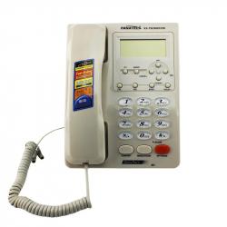 Telefon fix cu afisaj LCD memorie 500 numere calculator FSK/DTMF Telefoane