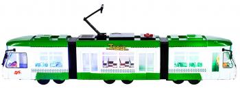 Tramvai verde cu lumina Malplay 107691