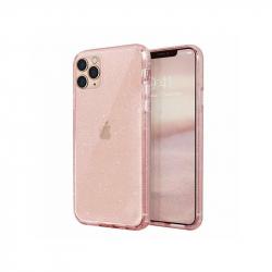 Husa UNIQ LifePro Tinsel pentru iPhone 11 Pro Max Blush Glitter Huse Telefoane