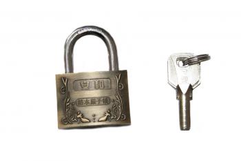 Lacat top metalic cu model 50 mm cu cheie
