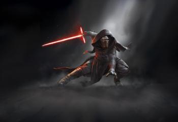 Fototapet Star Wars Kylo Ren Komar 8-491 RosuNegru 368 X 254cm LxI Tapet