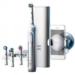 Periuta de dinti electrica Oral-B Genius 9000 Smartring 6 programe 4 capete Conectivitate Bluetooth Trusa de calatorie Periute electrice si dus bucal