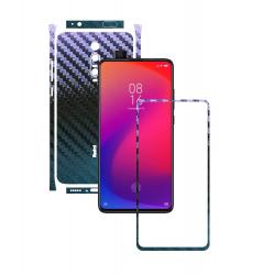 Folie Protectie Carbon Skinz pentru Xiaomi Redmi K20/ K20 Pro/ K20 Premium - Carbon Cameleon Split Cut Skin Adeziv Full Body Cover pentru
