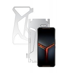 Folie Protectie Spate Invisible Skinz HD pentru Asus ROG Phone 2 II - Folie Siliconica Ultra-Clear cu taiere 360 Cut pentru Carcasa Spate Folii Protectie