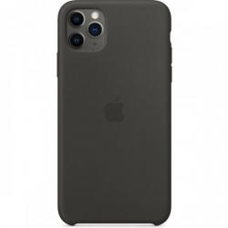 Husa de protectie Originala Apple pentru iPhone 11 Pro Max Silicone Case Black Huse Telefoane