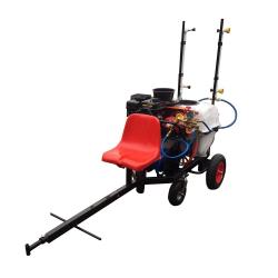 Atomizor pulverizator vita de vie tractabil tip remorca BSR 100 REM1 cu 6 duze pentru motocultoare ATV