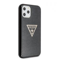 Husa Premium Guess Glitter iPhone 11 Pro Negru Guhcn58sgtlbk Huse Telefoane