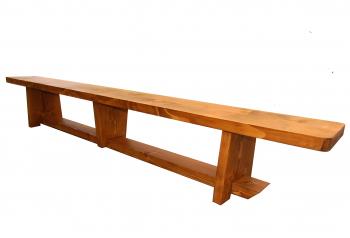 Banca Gimnastica Prospalier B21N Nelacuita Natur lemn 200x25x30 cm Accesorii fitness