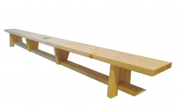Banca Gimnastica Prospalier B31N Nelacuita Natur lemn 300x25x30 cm Accesorii fitness