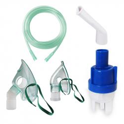 Kit accesorii universale RedLine RDA009 pentru aparate aerosoli cu compresor masca medie rotativa masca bebelusi furtun Cantare, termometre si aerosoli