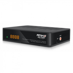 Receptor digital HD Amiko Mini Combo Extra