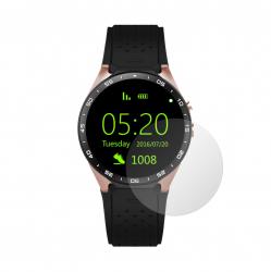 Set 4 Folii Protectie Ecran Acoperire Totala Adezive si Foarte Flexibile Invisible Skinz Ultra-Clear HD pentru Smartwatch NO.1 D7 Accesorii Smartwatch