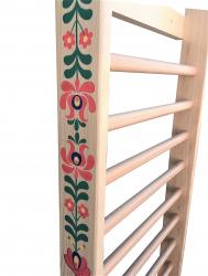Spalier Gimnastica Pictat Manual Prospalier M1 230x80 cm 14 BARE lacuit natur lemn Accesorii fitness