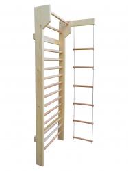 Spalier Gimnastica Standard Prospalier M4 200x80 cm 12 BARE lacuit natur lemn Accesorii fitness