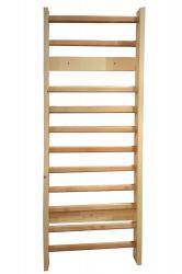 Spalier Gimnastica Standard Prospalier 11 BARE 240x85 cm M12485EL lacuit natur lemn Accesorii fitness