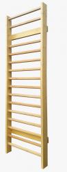 Spalier Gimnastica Standard Prospalier 245x80 cm 15 BARE M12450L lacuit natur lemn Accesorii fitness