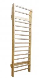 Spalier Gimnastica Standard Prospalier 260x85 cm M1600N 16 BARE nelacuit lemn Accesorii fitness