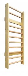 Spalier Gimnastica Standard Prospalier 220x90 cm 10 BARE M1229EN nelacuit lemn Accesorii fitness