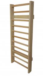 Spalier Gimnastica Standard Prospalier M12485EN 240x85 cm 11 BARE nelacuit lemn Accesorii fitness