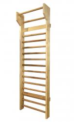 Spalier Gimnastica Standard Prospalier M2450L 245x80 cm 15 BARE lacuit natur lemn Accesorii fitness
