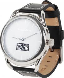 Ceas Smartwatch KrugerMatz Hybrid argintiu Smartwatch
