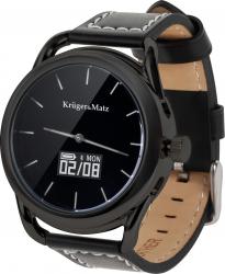 Ceas Smartwatch KrugerMatz Hybrid negru Smartwatch