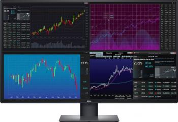 Monitor LED 42.5 Dell UltraSharp U4320Q 4K UltraHD IPS Display Port, USB-C Negru