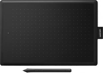 Tableta grafica WACOM One 2 Medium CTL-672-S negru-rosu