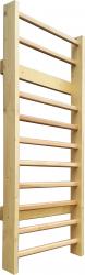 Spalier Gimnastica Standard Prospalier M12285L 220x85 cm 10 BARE lacuit natur lemn Accesorii fitness