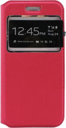 Husa View Book Magnet tip carte inchidere magnetica HTC Desire 526 Rosu