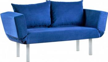 Canapea 2 locuri SEUL Albastru Extensibila Canapele