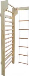 Spalier Gimnastica Prospalier M4 230x80 cm 14 BARE lacuit natur lemn Accesorii fitness