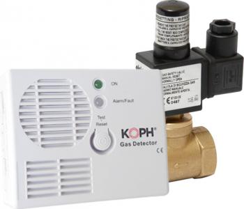 Detector de gaz metan KOPH cu electrovalva 3/4 Alarme auto si Senzori de parcare