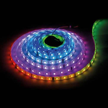 BANDA LED 24V RGBW 60 LED-M LUMINA CALDA INTERIOR PREMIUM 19W Corpuri de iluminat