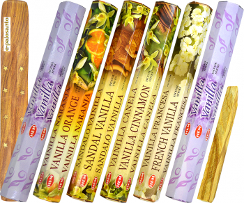 Betisoare parfumate e-palosanto aromaterapie Set Vanilie + Lemn Palo Santo Odorizante