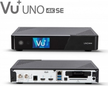Receptor satelit digital HD VU+ Uno 4K SE