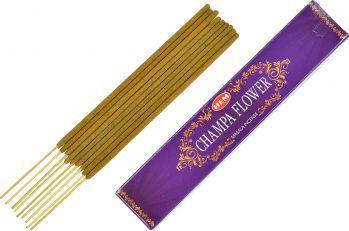 Betisoare parfumate premium e-palosanto Floare Champa 15 gr. Odorizante