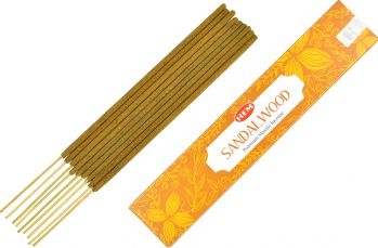 Betisoare parfumate premium e-palosanto Lemn de Santal 15 gr. Odorizante