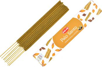 Betisoare parfumate premium e-palosanto Palo Santo 15 gr. Odorizante