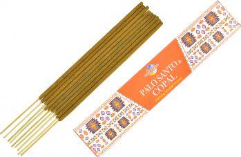 Betisoare parfumate premium e-palosanto Palo Santo si Copal 15 gr. Odorizante
