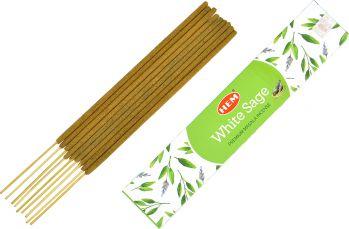Betisoare parfumate premium e-palosanto Salvie Alba 15 gr. Odorizante
