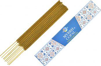 Betisoare parfumate premium e-palosanto Smirna si Copal 15 gr. Odorizante