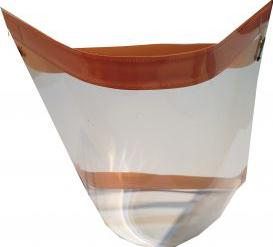 Pachet 5 bucati Viziera Masca de Protectie Handmade Eco Articole protectia muncii