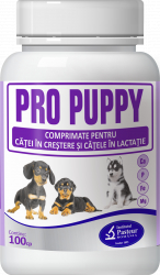 Supliment nutritiv pentru caini Pasteur Pro-Puppy 100 tablete Hrana animale