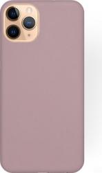 Husa Soft Liquide Silicone pentru iPhone 11 Pro Max din silicon flexibil si ultra subtire Powder Pink Huse Telefoane
